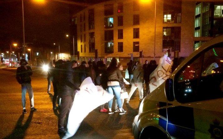 bradford protest