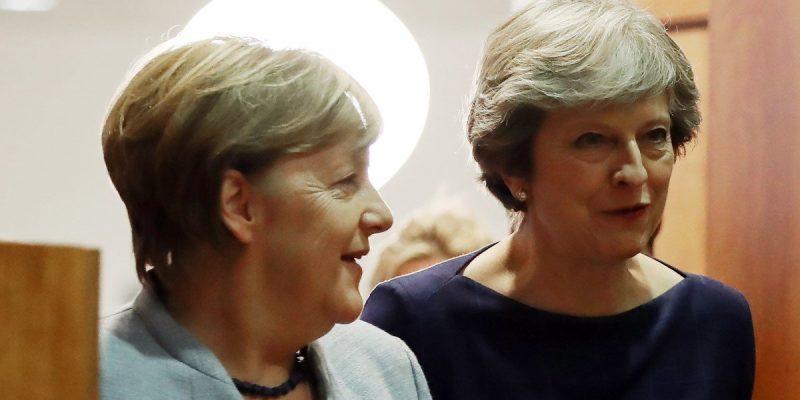 Angela, Merkel, Theresa, May, Brexit